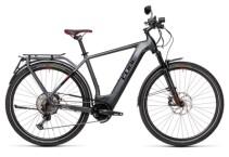 e-Trekkingbike Cube Kathmandu Hybrid 45 625 iridium´n´red