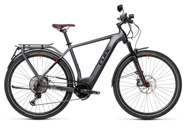 e-Trekkingbike Cube Kathmandu Hybrid 45 625 iridium´n´red 2021