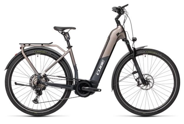 e-Trekkingbike Cube Kathmandu Hybrid SLT 625 teak´n´iridium 2021