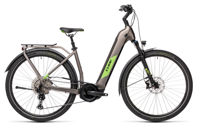e-Trekkingbike Cube Kathmandu Hybrid EXC 625 teak´n´green 2021