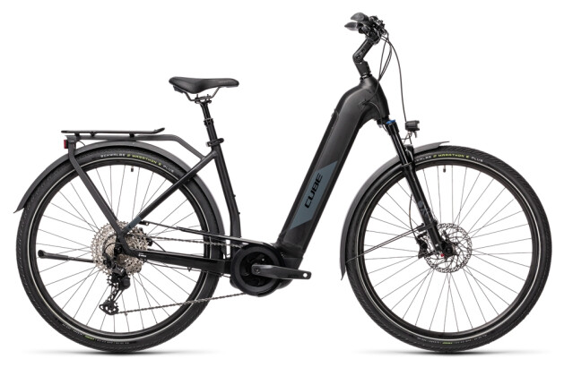 e-Trekkingbike Cube Kathmandu Hybrid EXC 625 black´n´grey 2021