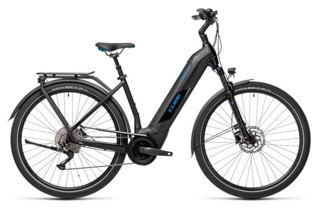 e-Trekkingbike Cube Kathmandu Hybrid Pro 500 black´n´blue 2021
