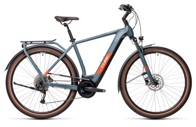 e-Trekkingbike Cube Kathmandu Hybrid ONE 625 blue´n´red 2021