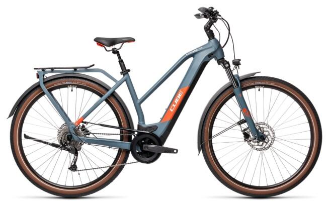 e-Trekkingbike Cube Kathmandu Hybrid ONE 500 blue´n´red 2021