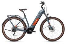 e-Trekkingbike Cube Kathmandu Hybrid ONE 500 blue´n´red