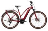 e-Trekkingbike Cube Touring Hybrid EXC 500 red´n´grey