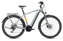 e-Trekkingbike Cube Touring Hybrid Pro 625 grey´n´orange