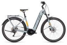 e-Trekkingbike Cube Touring Hybrid Pro 500 grey´n´orange