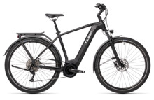 e-Trekkingbike Cube Touring Hybrid Pro 625 black´n´white