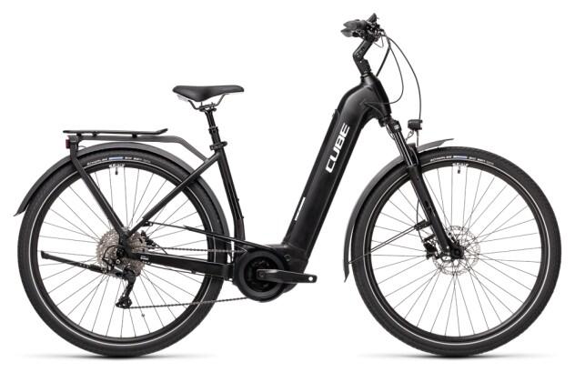 e-Trekkingbike Cube Touring Hybrid Pro 500 black´n´white 2021
