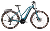 e-Trekkingbike Cube Touring Hybrid ONE 500 blue´n´green