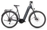 e-Trekkingbike Cube Touring Hybrid ONE 500 grey´n´black