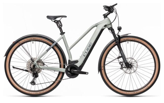 e-Crossbike Cube Cross Hybrid SL 625 Allroad lunar´n´grey 2021