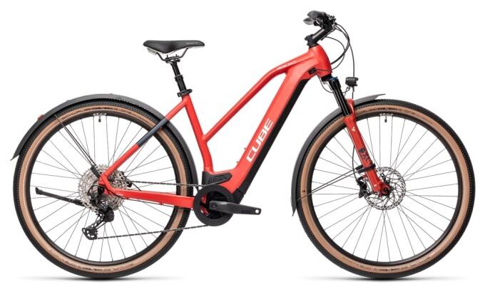 e-Crossbike Cube Cross Hybrid Race 625 Allroad red´n´grey 2021