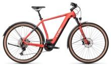 e-Crossbike Cube Cross Hybrid Race 625 Allroad red´n´grey