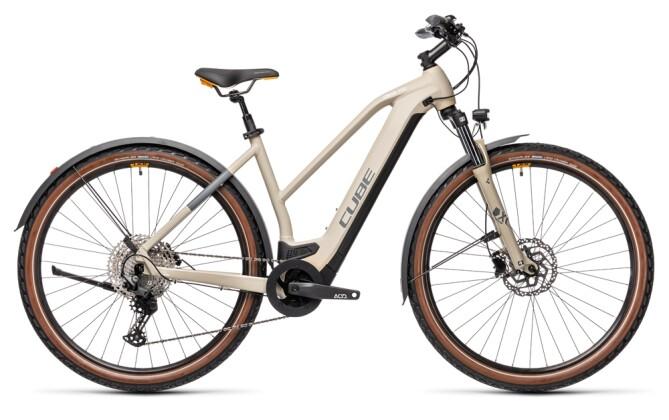 e-Mountainbike Cube Cross Hybrid Pro 625 Allroad desert´n´orange 2021