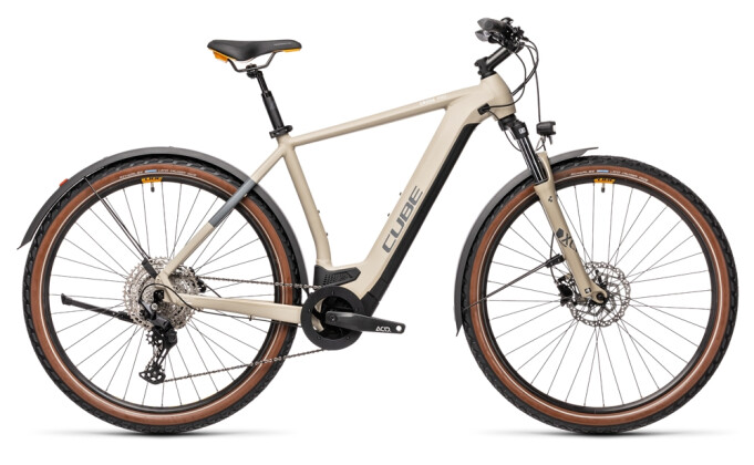 e-Mountainbike Cube Cross Hybrid Pro 500 Allroad desert´n´orange 2021