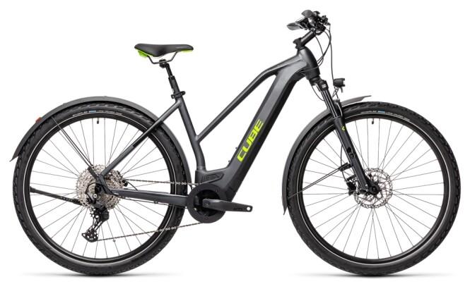 e-Mountainbike Cube Cross Hybrid Pro 625 Allroad iridium´n´green 2021