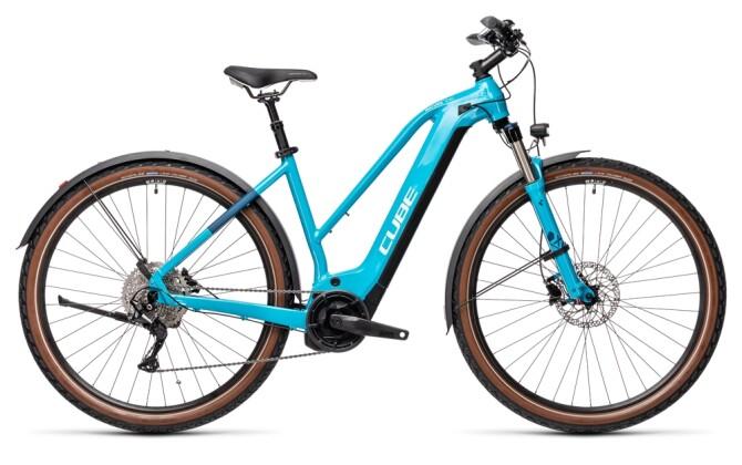 e-Trekkingbike Cube Nature Hybrid EXC 625 Allroad petrol´n´darkblue 2021