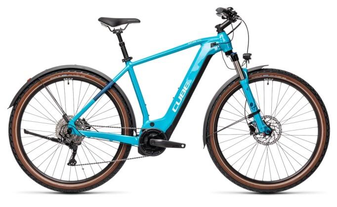 e-Trekkingbike Cube Nature Hybrid EXC 500 Allroad petrol´n´darkblue 2021