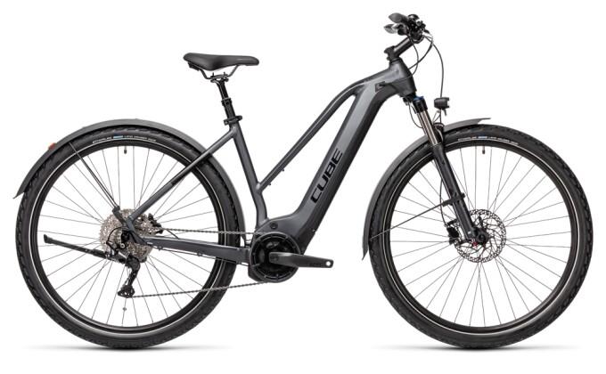 e-Trekkingbike Cube Nature Hybrid EXC 500 Allroad iridium´n´black 2021