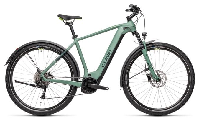 e-Trekkingbike Cube Nature Hybrid ONE 625 Allroad 2021