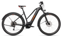 e-Trekkingbike Cube Nature Hybrid ONE 625 Allroad black´n´red