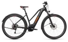 e-Trekkingbike Cube Nature Hybrid ONE 500 Allroad black´n´red