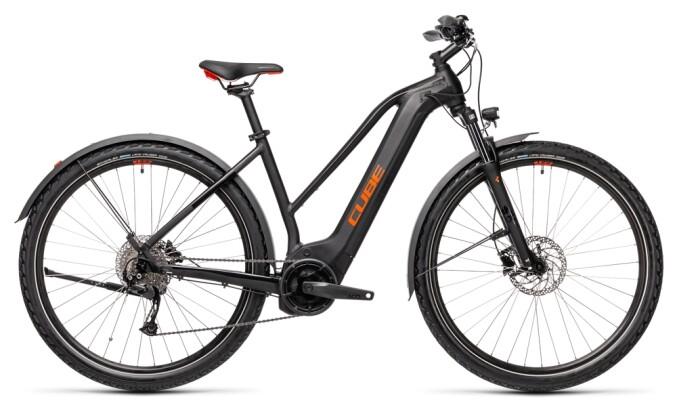 e-Trekkingbike Cube Nature Hybrid ONE 500 Allroad black´n´red 2021
