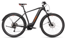 e-Trekkingbike Cube Nature Hybrid ONE 500 Allroad black´n´red