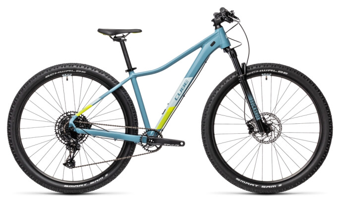 Mountainbike Cube Access WS SL greyblue´n´lime 2021