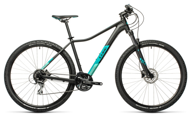 Mountainbike Cube Access WS Exc black´n´blue 2021