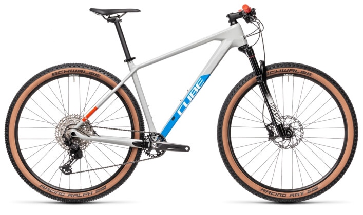 Mountainbike Cube Reaction C:62 Pro grey´n´blue´n´red 2021