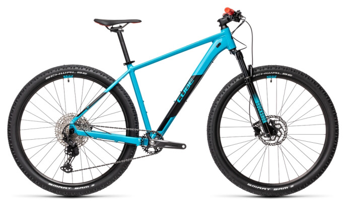 Mountainbike Cube Attention SL petrol´n´red 2021