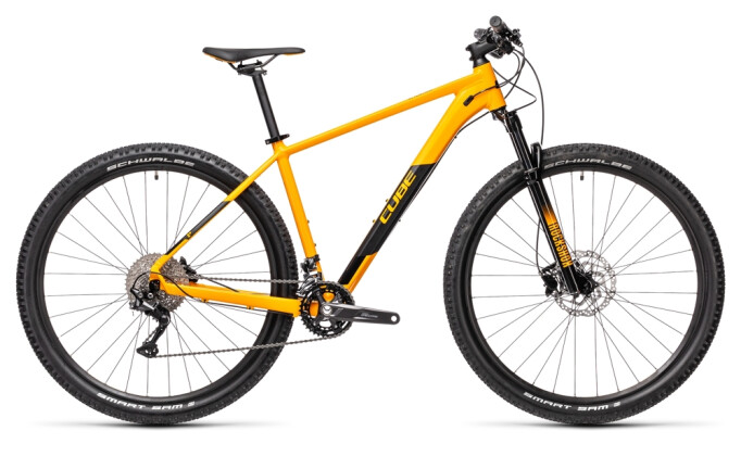 Mountainbike Cube Attention amber´n´black 2021