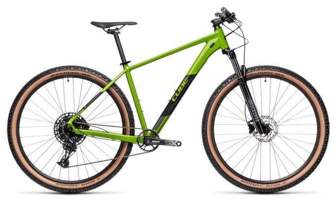 Mountainbike Cube Analog deepgreen´n´black RS 2021