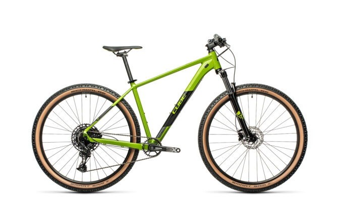 Mountainbike Cube Analog deepgreen´n´black 2021