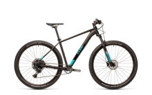 Mountainbike Cube Analog black´n´petrol RS