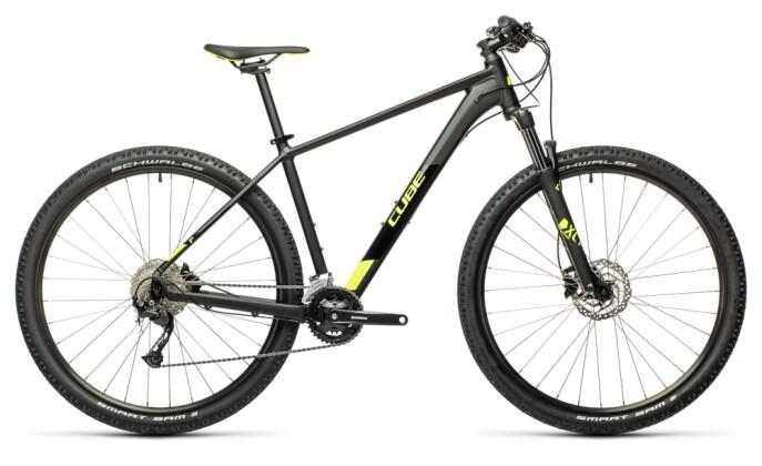 Mountainbike Cube Aim EX black´n´flashyellow 2021