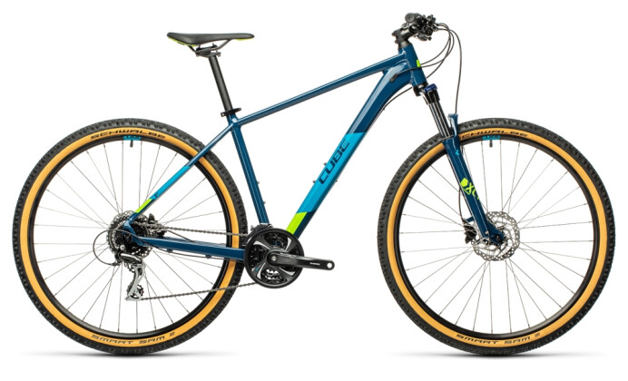 Mountainbike Cube Aim Race blueberry´n´lime 2021