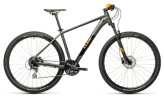 Mountainbike Cube Aim Race darkgrey´n´orange