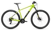 Mountainbike Cube Aim Pro green´n´black