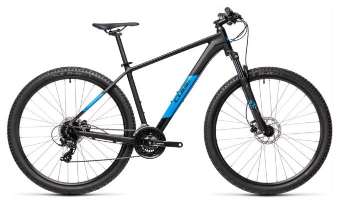Mountainbike Cube Aim Pro black´n´blue 2021