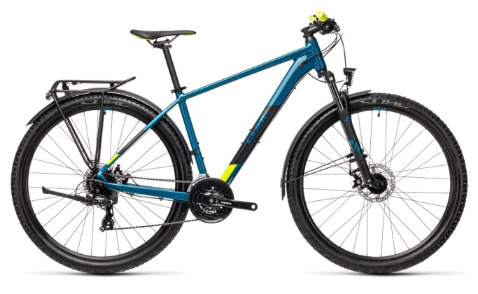 Kinder / Jugend Cube Aim Allroad pinetree´n´yellow 2021