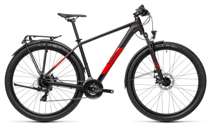 Kinder / Jugend Cube Aim Allroad black´n´red 2021