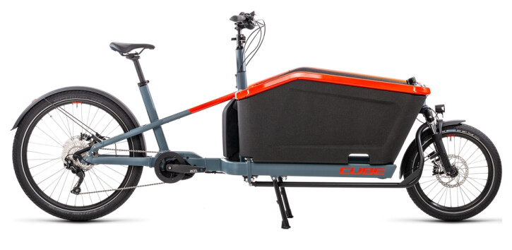 e-Lastenrad Cube Cargo Hybrid Sport blue´n´red 2021