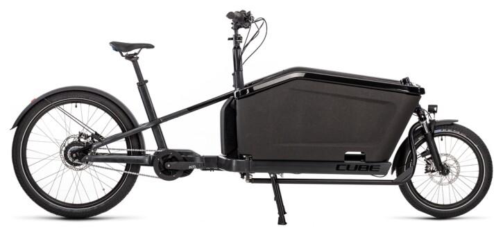 e-Lastenrad Cube Cargo Hybrid iridium´n´black 2021