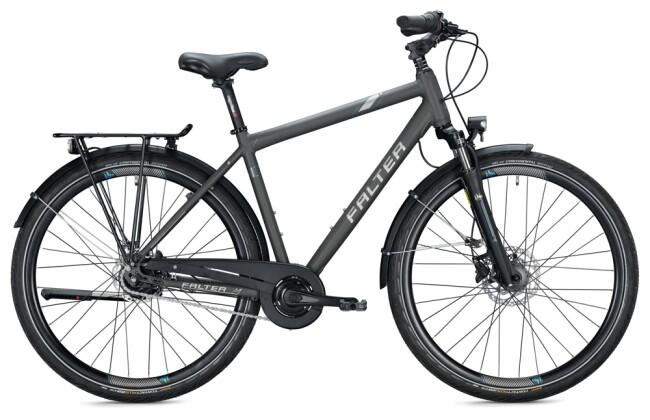 Citybike FALTER C 4.0 PLUS Diamant titanium 2021