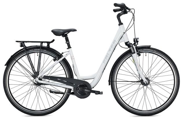 Citybike FALTER C 4.0 Wave white-red 2021