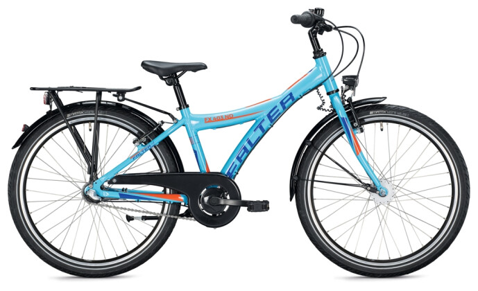 Kinder / Jugend FALTER FX 403 ND Y-Type light blue-orange 2021